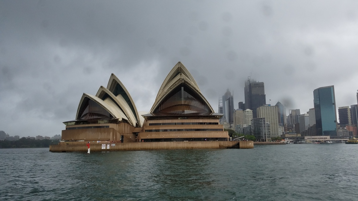 """Sydney Harbor Cruise"" – a video blog"