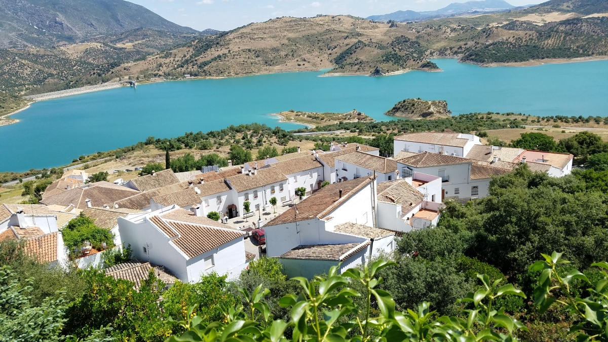Zahara, an Andalusian village