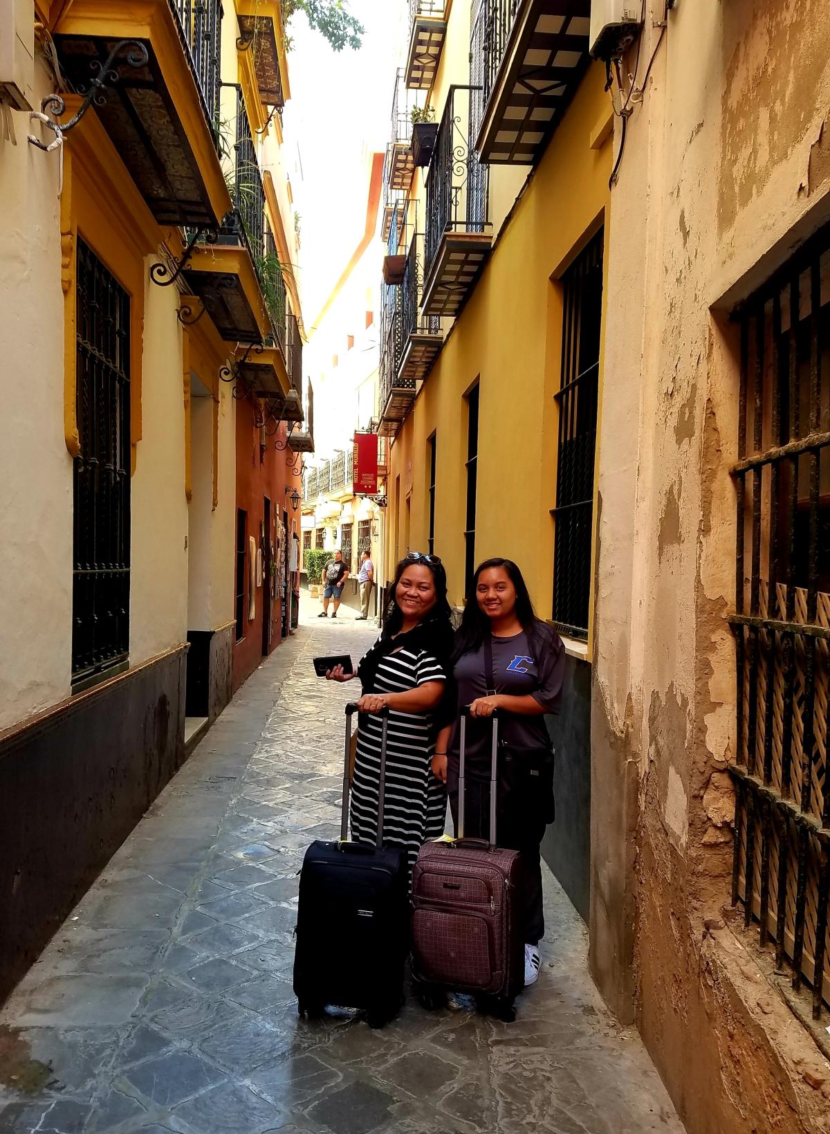 Exploring Seville, Spain